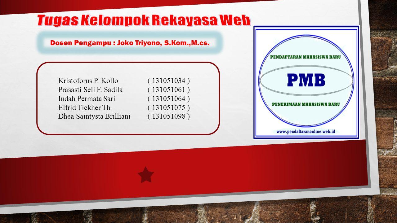 Sistem pendaftaran calon mahasiswa baru merupakan sistem yang dibuat untuk membantu calon mahasiswa yang akan mendaftar di IST AKPRIND Yogyakarta.