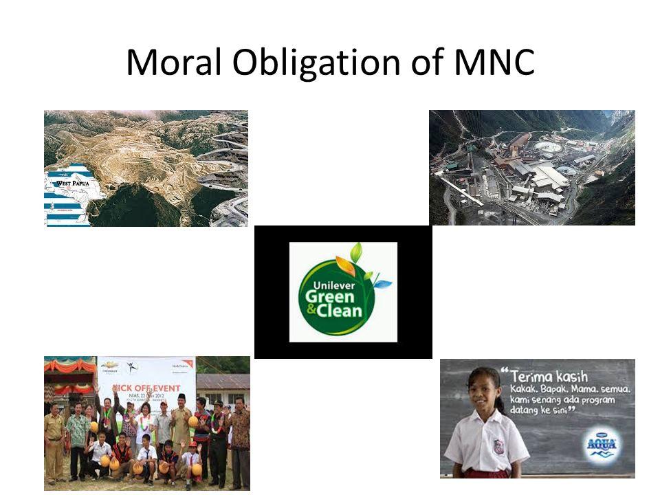 Moral Obligation of MNC