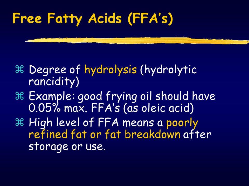 Bilangan asam = Kadar asam lemak bebas (%) =