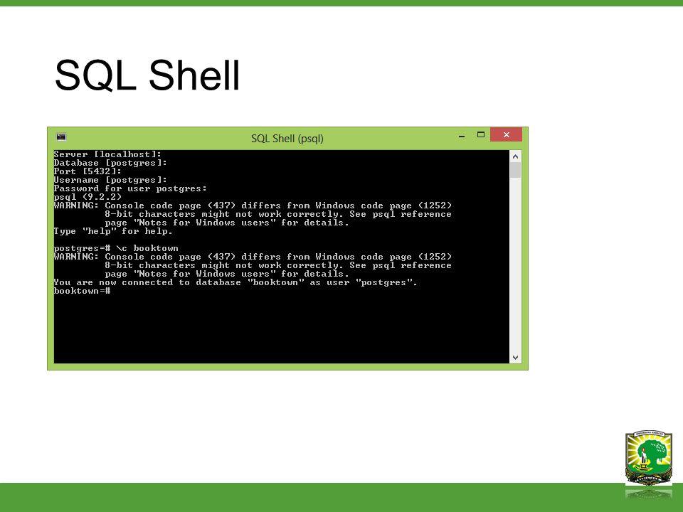 SQL Shell