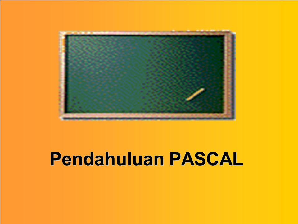 Pendahuluan PASCAL
