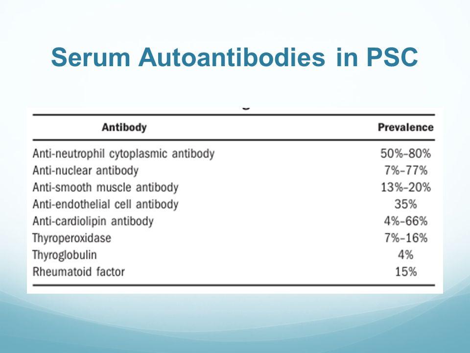 Serum Autoantibodies in PSC