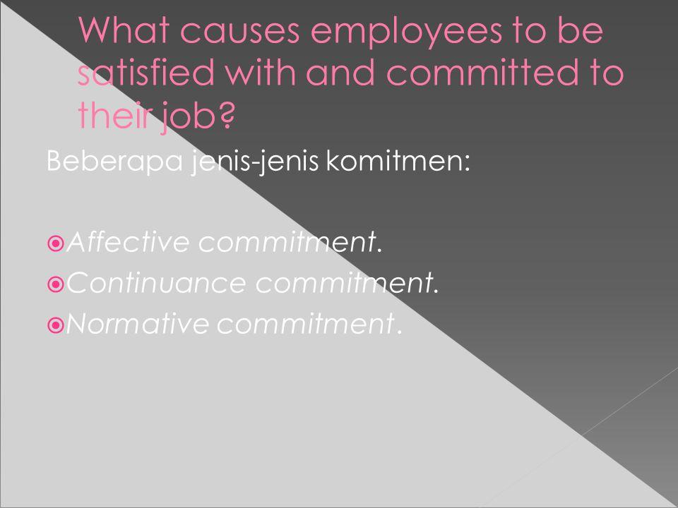 What individual differences affect job satisfaction Didalam teori individual diffrence, sebagian perbedaan dalam kepuasan kerja, disebabkan kecendrungan seseorang untuk menikmati apa yang ia lakukan.