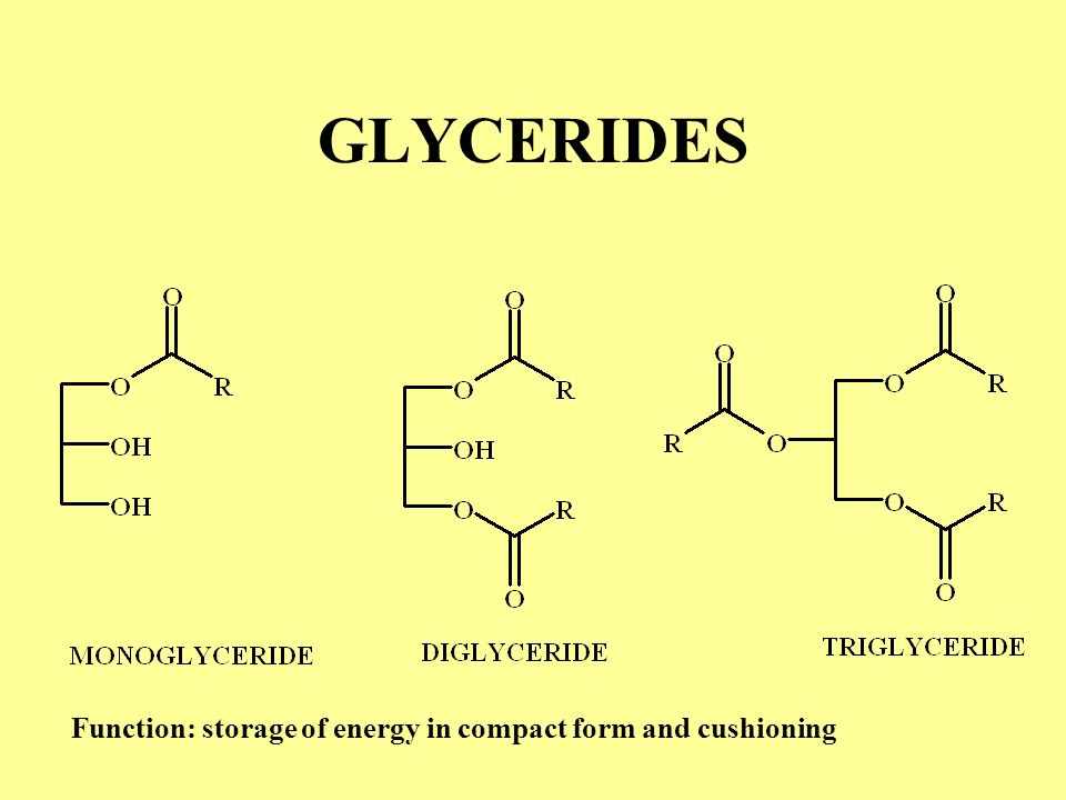 Neutral lipids Glycerides (fats and oils) ;glycerides –Glycerol –Ester of glycerol - mono glycerides, diglycerides and triglycerides Waxes – simple es