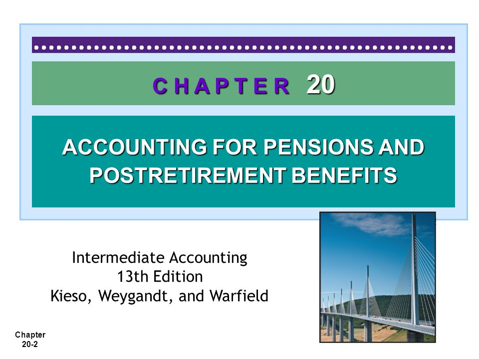 Chapter 20-33 Using a Pension Work Sheet P20-2: Jackson Company adopts acceptable accounting for its defined benefit pension plan on January 1, 2009, with the following beginning balances: plan assets $200,000; projected benefit obligation $250,000.