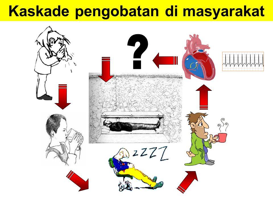 PRESCRIBING CASCADE Kaskade Peresepan PRESCRIBING CASCADE obat 2 efek samping obat efek samping obat diinterprestasikan sebagai suatu kondisi klinis baru obat 1 Rochon PA, Gurwitz JH.