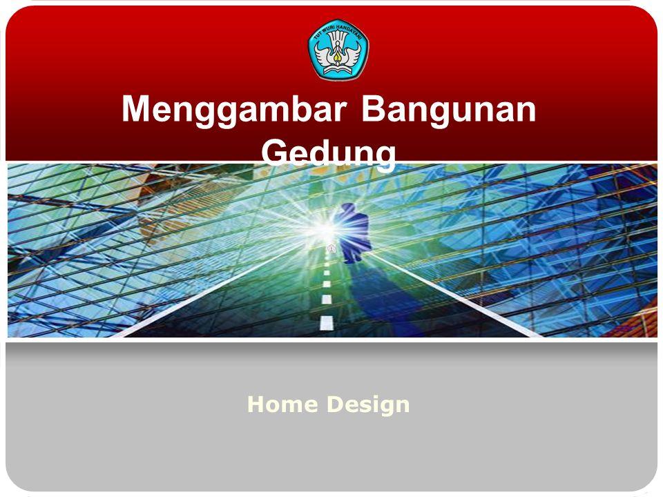 Menggambar Bangunan Gedung Home Design