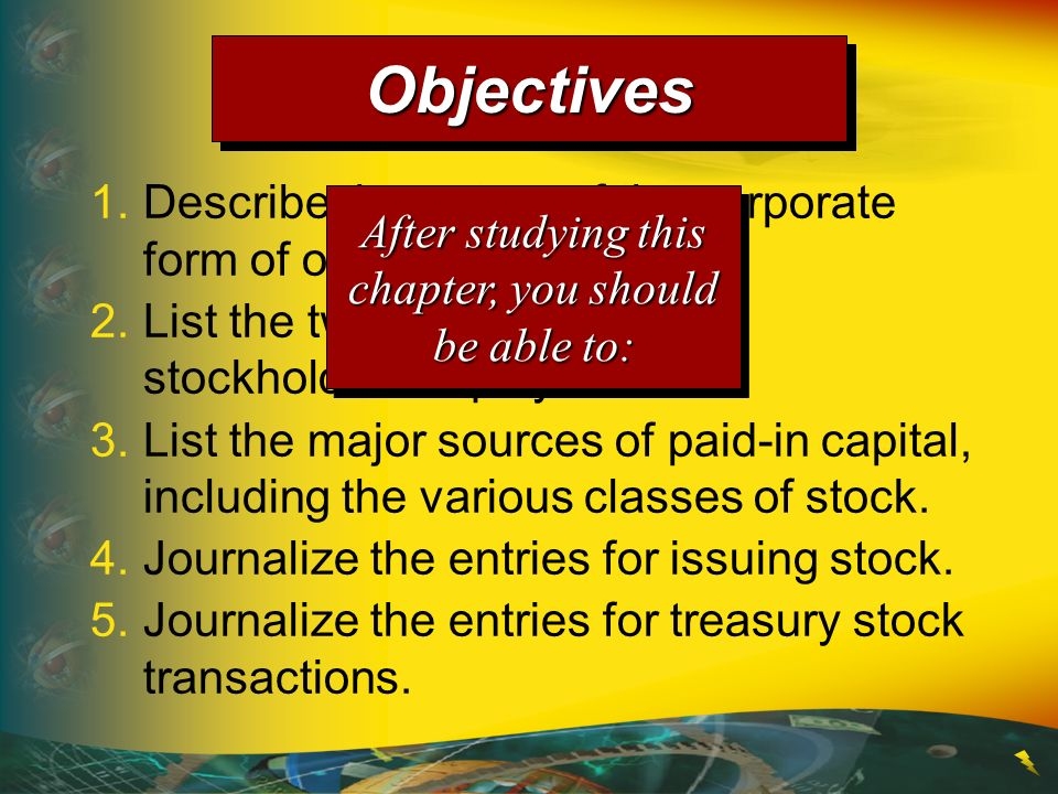 The two primary classes of paid-in capital are common stock and preferred stock.