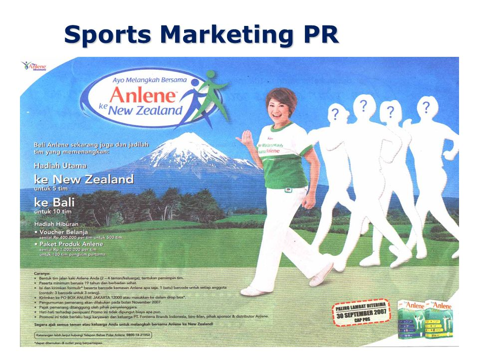 Sports Marketing PR