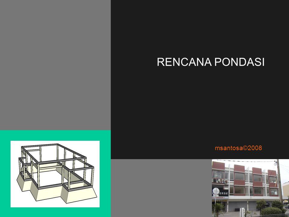 RENCANA PONDASI msantosa©2008