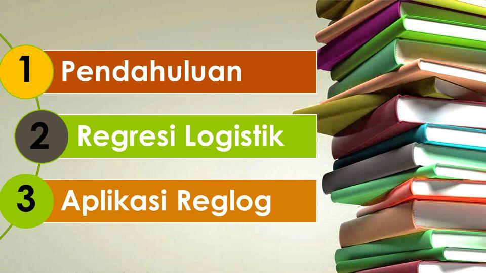 REGRESI LOGISTIK Regresi logistik adalah sebuah pendekatan untuk membuat model prediksi seperti halnya regresi linear atau yang biasa disebut dengan istilah Ordinary Least Squares (OLS) regression.