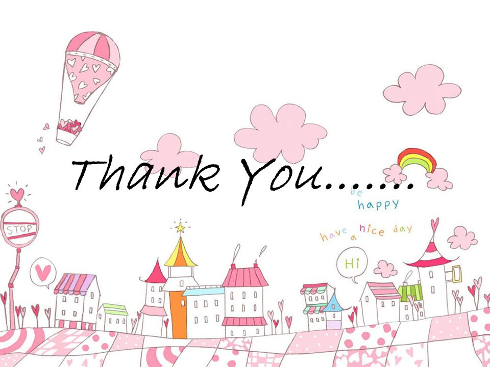 Thank You.......
