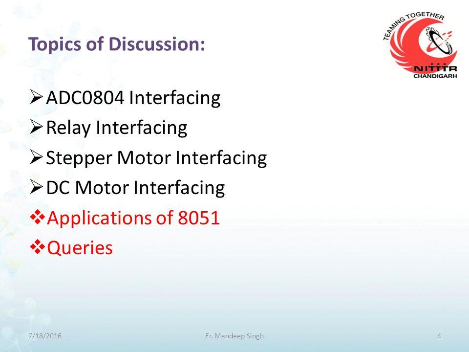 Addressing Modes: Immediate Addressing Mode Direct Addressing Mode Register Addressing Mode Register Indirect Addressing Mode Indexed Addressing Mode 7/18/201615Er.
