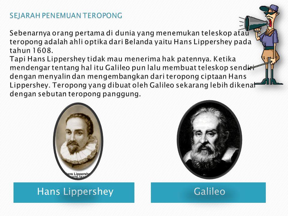 Hans LippersheyGalileo