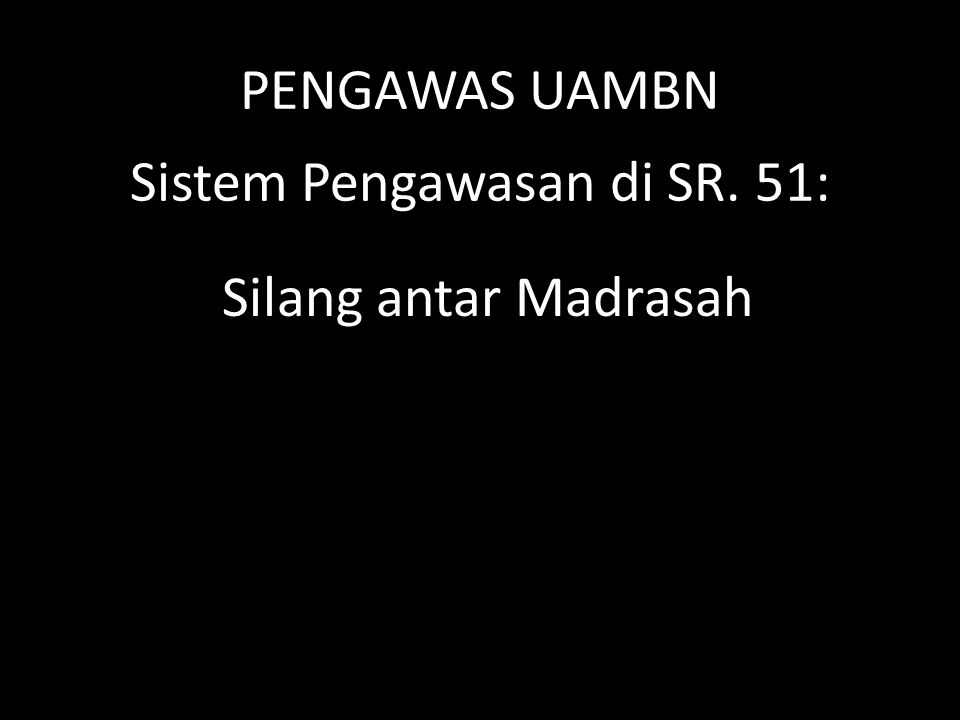 Jadwal Pengawas UAMBN 1M.MAKSUM, S. PdMA DARUSSALAMMAN JOMBANG 2WARIDATUL ISHLAHAH.