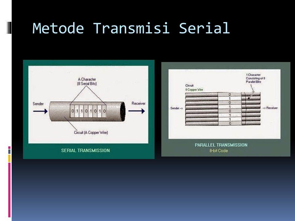 Metode Transmisi Serial