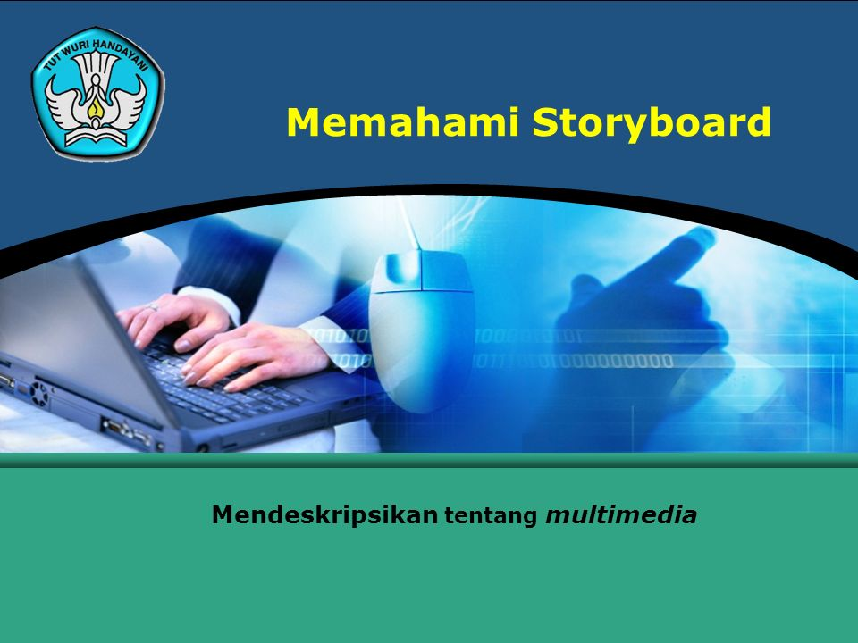 Teknologi Informasi dan Komunikasi Hal.: 2Isikan Judul Halaman Menjelaskan Storyboard Storyboard adalah jalan lain untuk menjelajahi kemungkinan narasi atau untuk melatih sebuah penampilan.