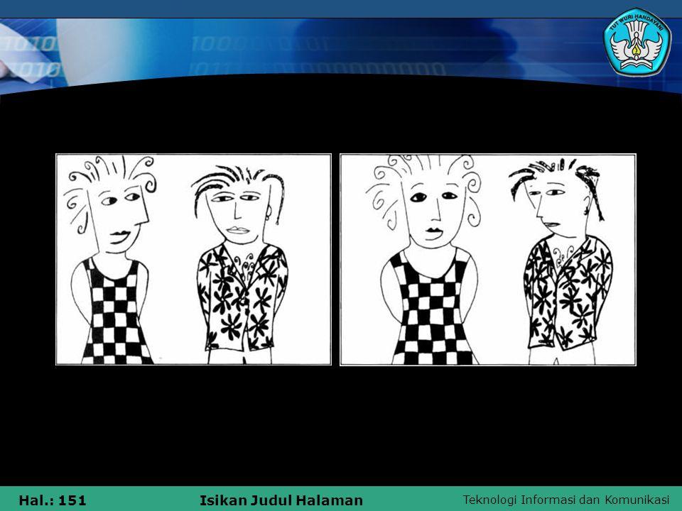 Teknologi Informasi dan Komunikasi Hal.: 151Isikan Judul Halaman Cut to Frame 1 Frame 2 ' JUMP CUT '