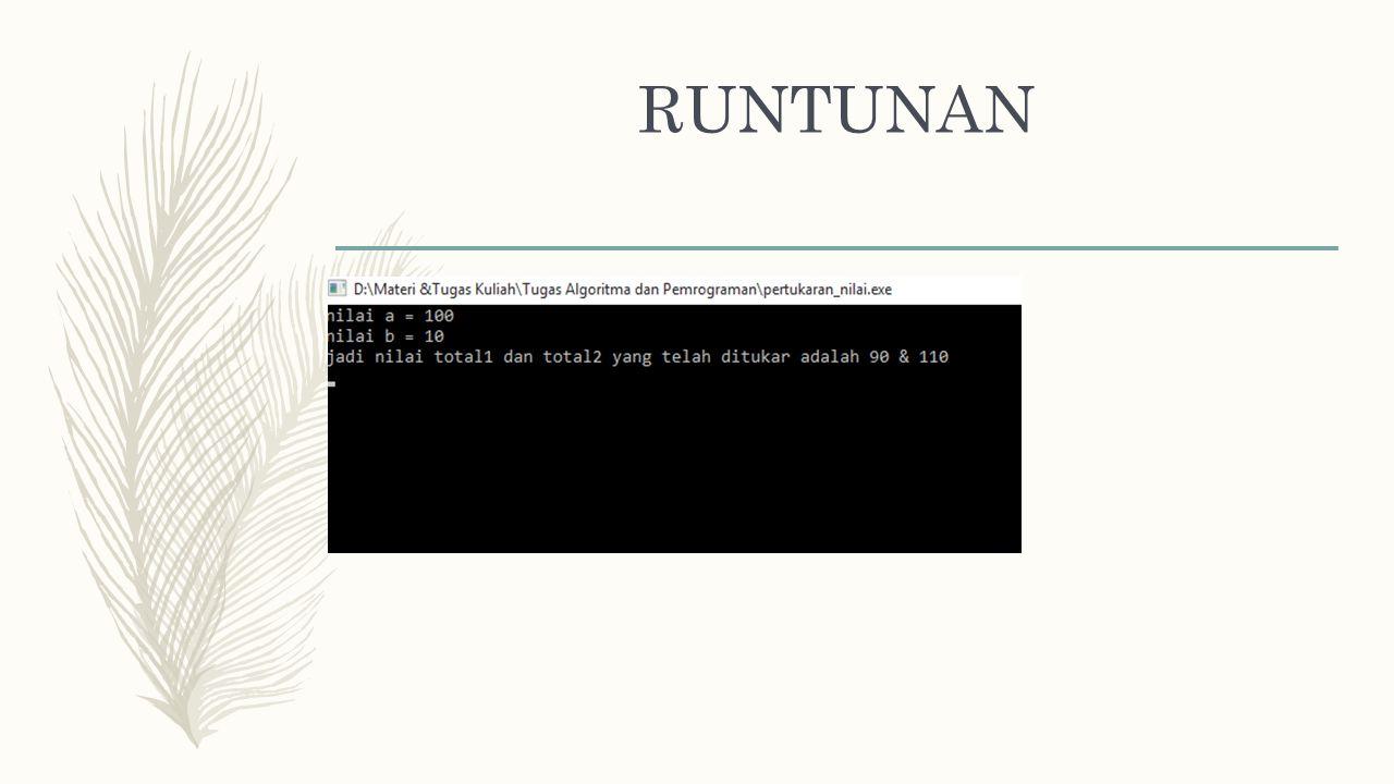 RUNTUNAN – Program