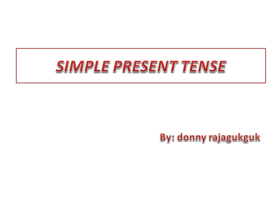 Simple present is used to talk about an action which happens on a regular basis.