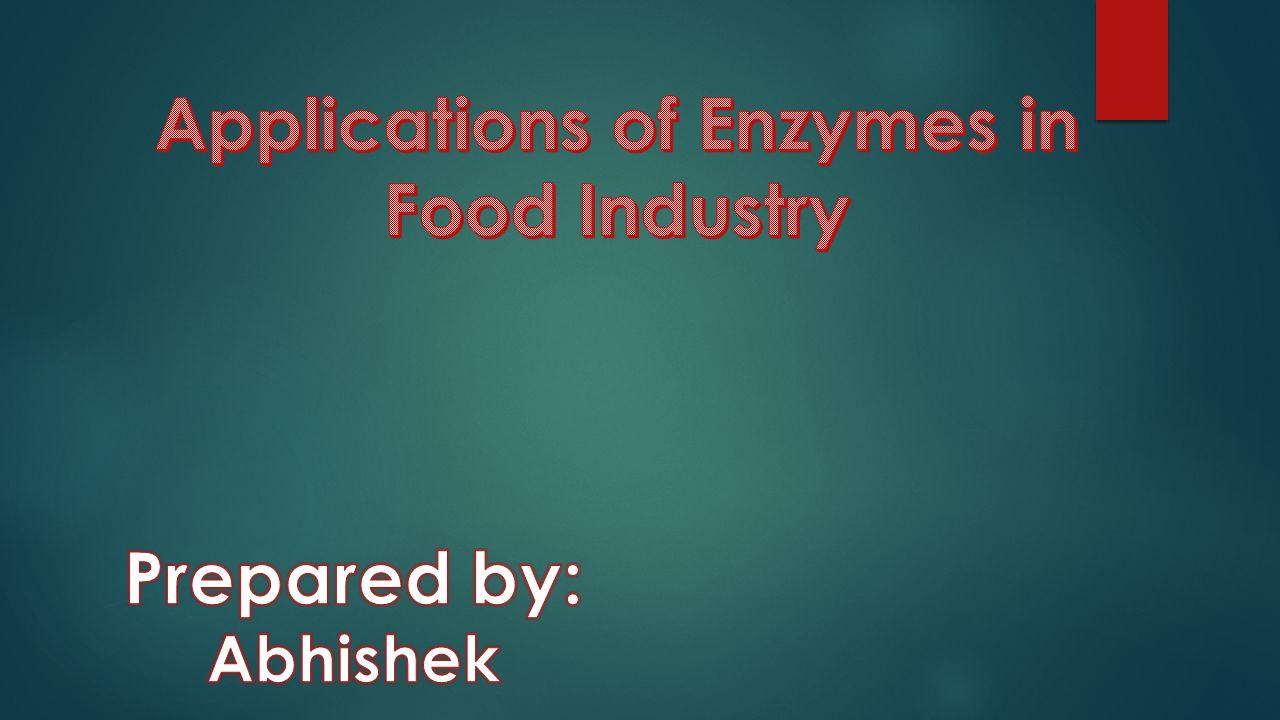 Enzyme technology is concerned with the application of enzymes as tools of industry, agriculture and medicine.