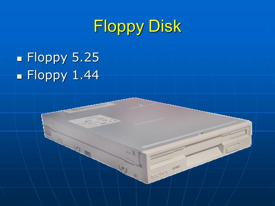 Floppy Disk Floppy 5.25 Floppy 5.25 Floppy 1.44 Floppy 1.44