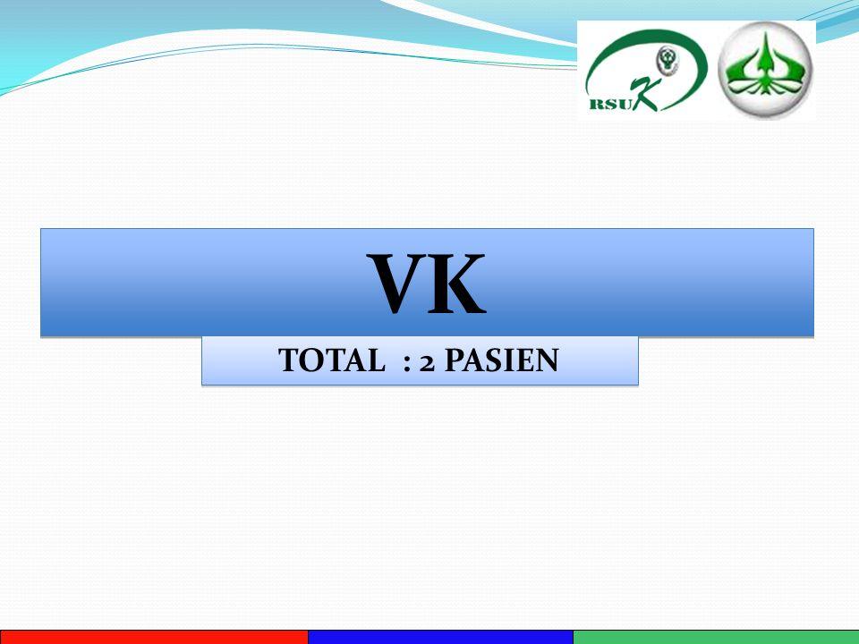 VK TOTAL : 2 PASIEN