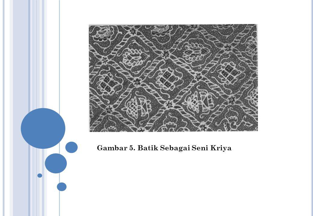Gambar 5. Batik Sebagai Seni Kriya