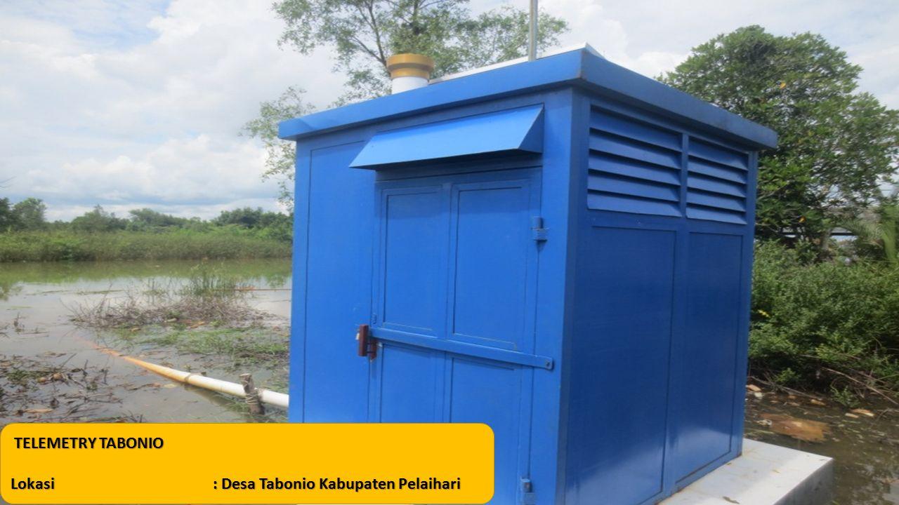 TELEMETRY TABONIO Lokasi: Desa Tabonio Kabupaten Pelaihari