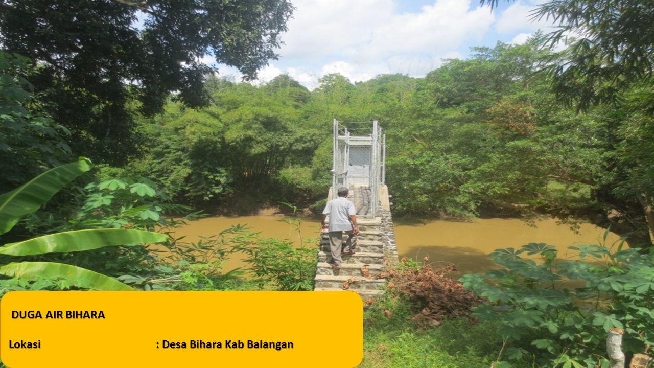 DUGA AIR BIHARA Lokasi: Desa Bihara Kab Balangan