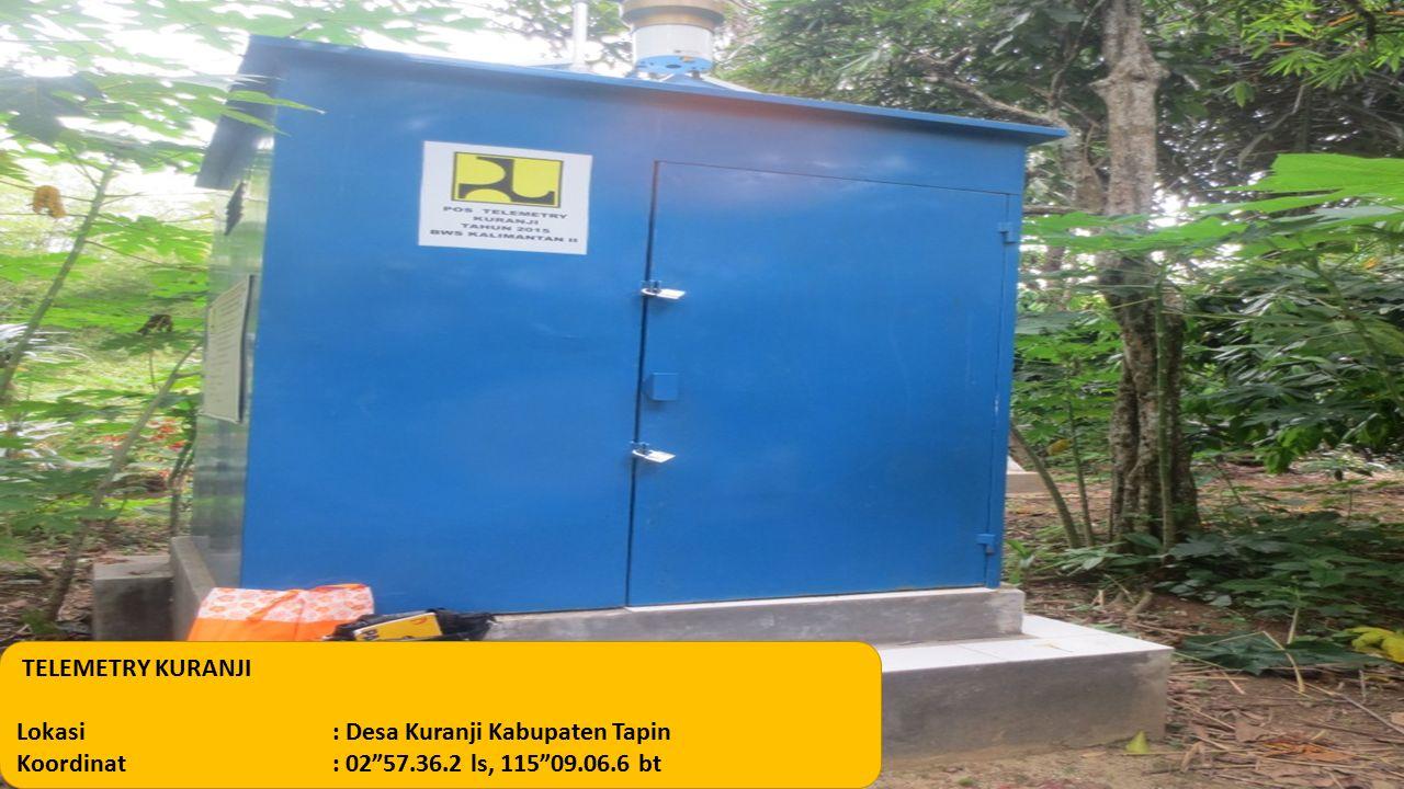 TELEMETRY KURANJI Lokasi: Desa Kuranji Kabupaten Tapin Koordinat: 02 57.36.2 ls, 115 09.06.6 bt