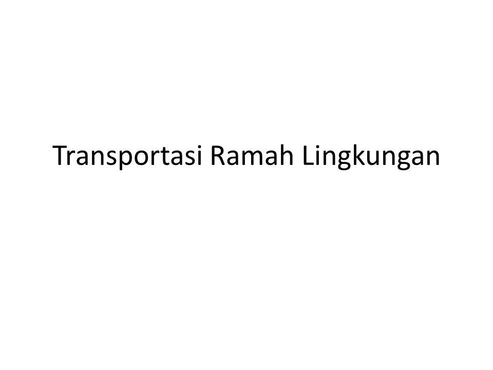 Transportasi Ramah Lingkungan