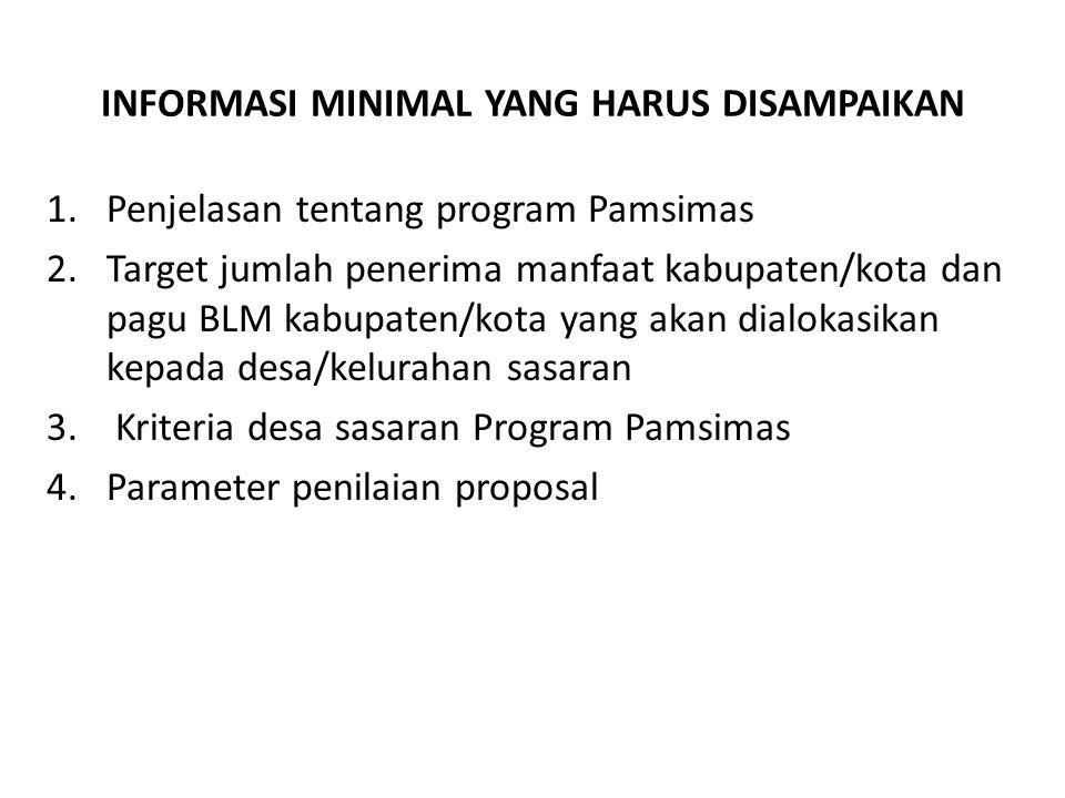 PENERIMAAN DAN PEMBUKAAN PROPOSAL DESA/KELURAHAN Proposal desa/kelurahan hanya dapat dibuka oleh Pakem sesuai jadwal pembukaan proposal desa/kelurahan yang disepakati pada saat sosialisasi atau sesuai perubahan jadwal yang telah diumumkan.