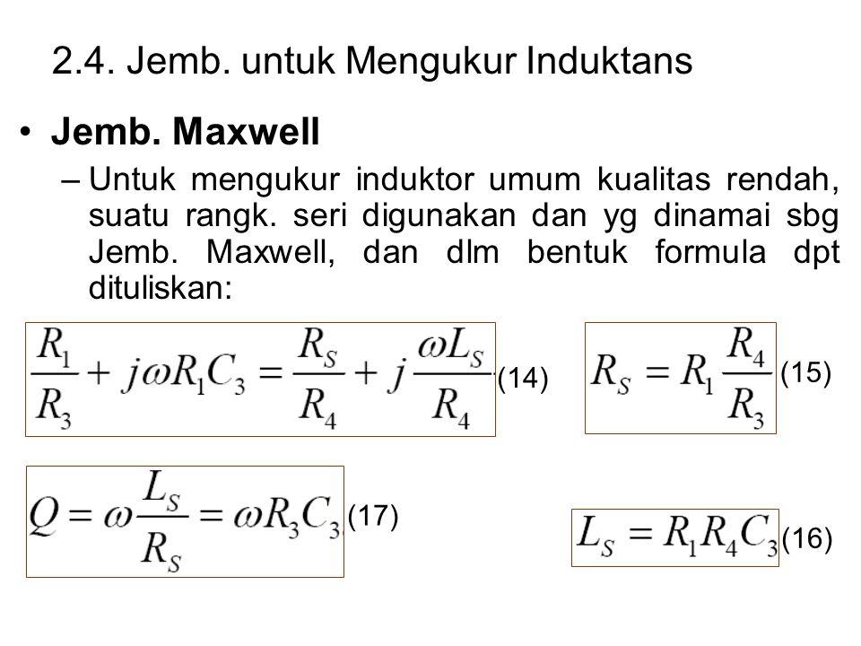 2.4. Jemb. untuk Mengukur Induktans Jemb.