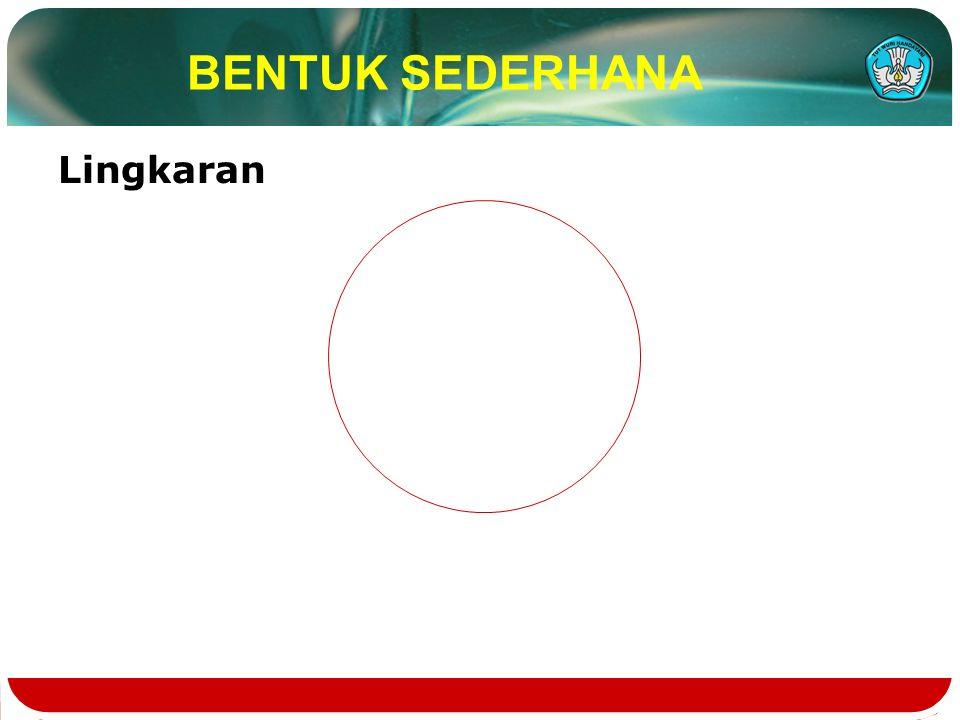 BENTUK SEDERHANA Lingkaran