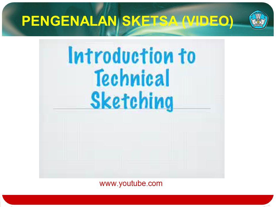 PENGENALAN SKETSA (VIDEO) www.youtube.com