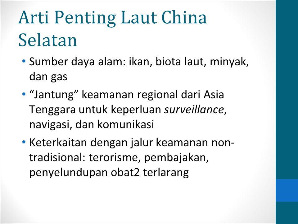 """Arti Penting Laut China Selatan Sumber daya alam: ikan, biota laut, minyak, dan gas """"Jantung"""" keamanan regional dari Asia Tenggara untuk keperluan sur"""