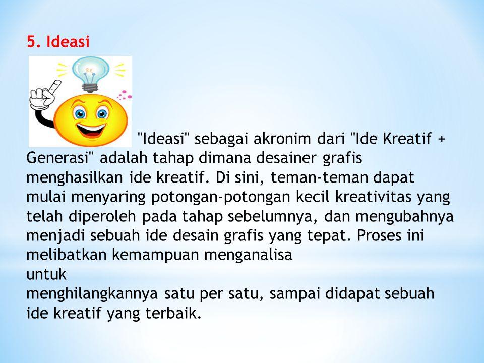 5. Ideasi