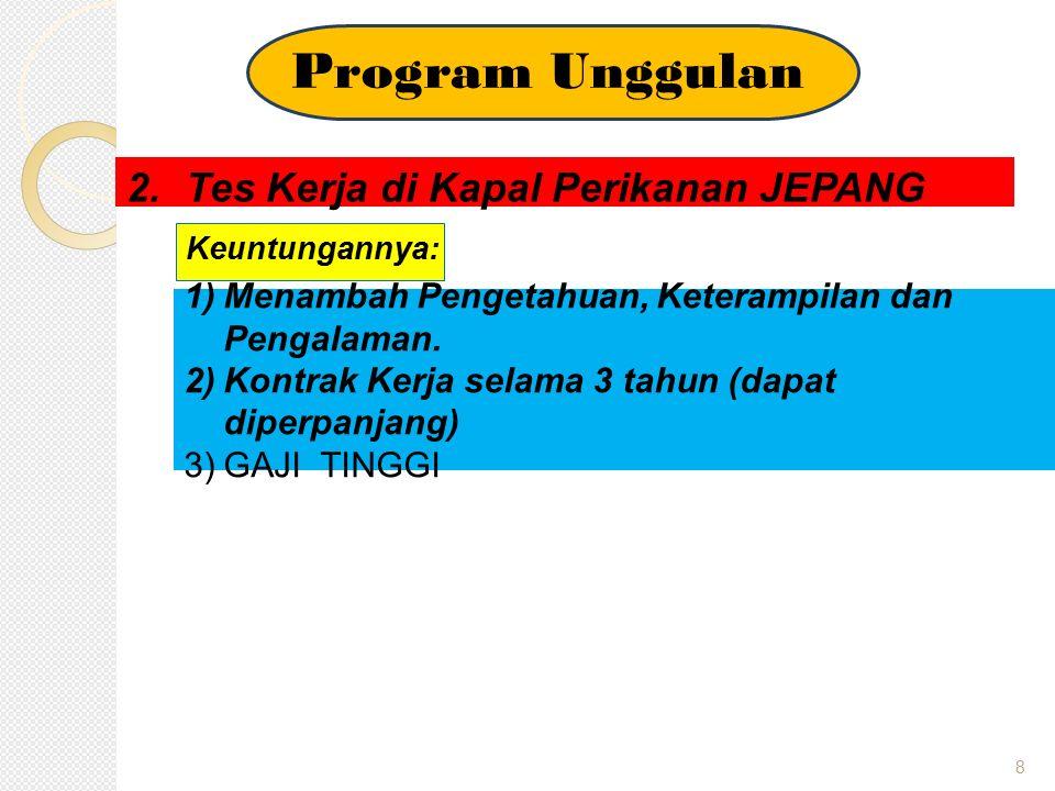 9 LAPANGAN KERJA Lapangan kerja bagi lulusan NKPI dapat bekerja di: 1.