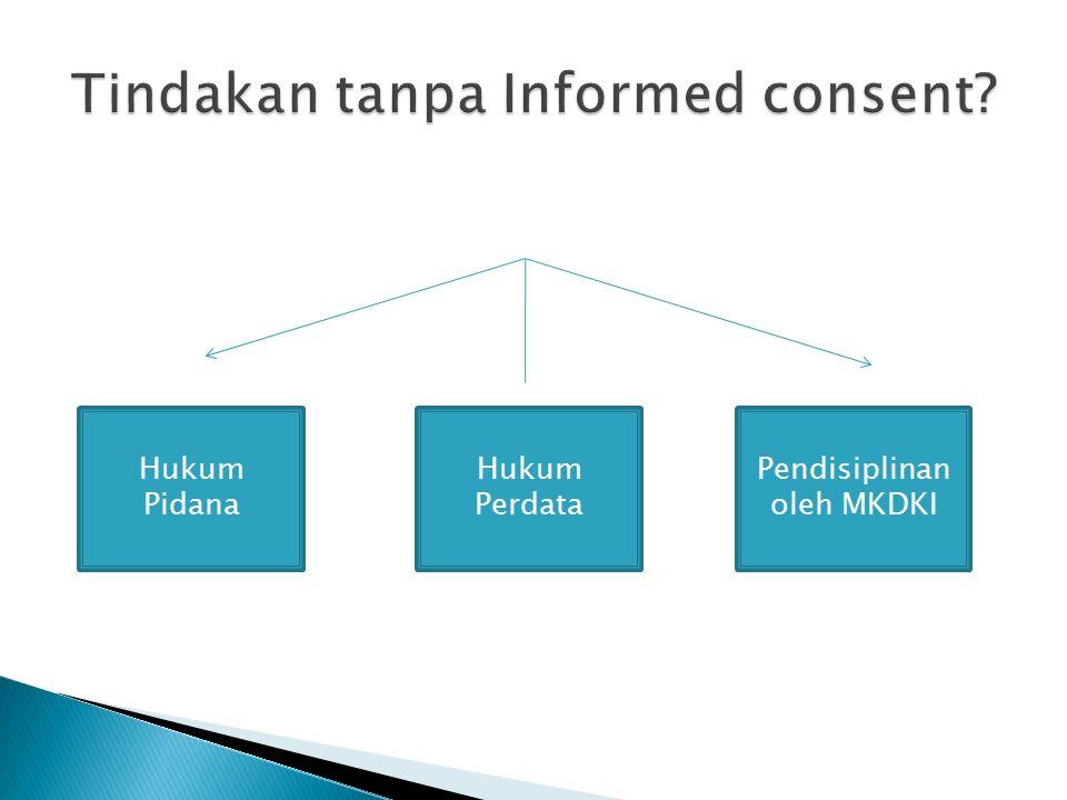 Hukum Pidana Hukum Perdata Pendisiplinan oleh MKDKI