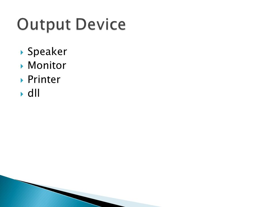  Speaker  Monitor  Printer  dll