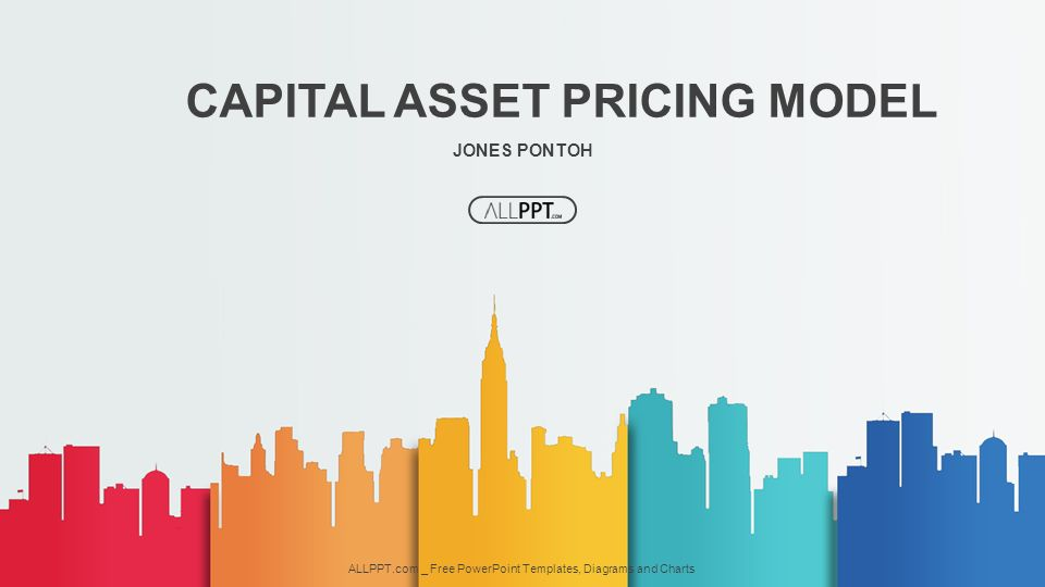 JONES PONTOH CAPITAL ASSET PRICING MODEL ALLPPT.com _ Free PowerPoint Templates, Diagrams and Charts