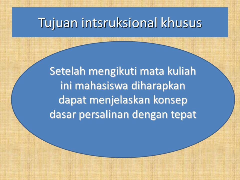 KONTRAK PERKULIAHAN  N ama MK: Askeb II (PERSALINAN)  Kode MK: Bd.302  Beban Studi: 5 SKS (T3 P:2)  Semester: III  Pengajar: Syamsuriyati  Pertemuan : 1