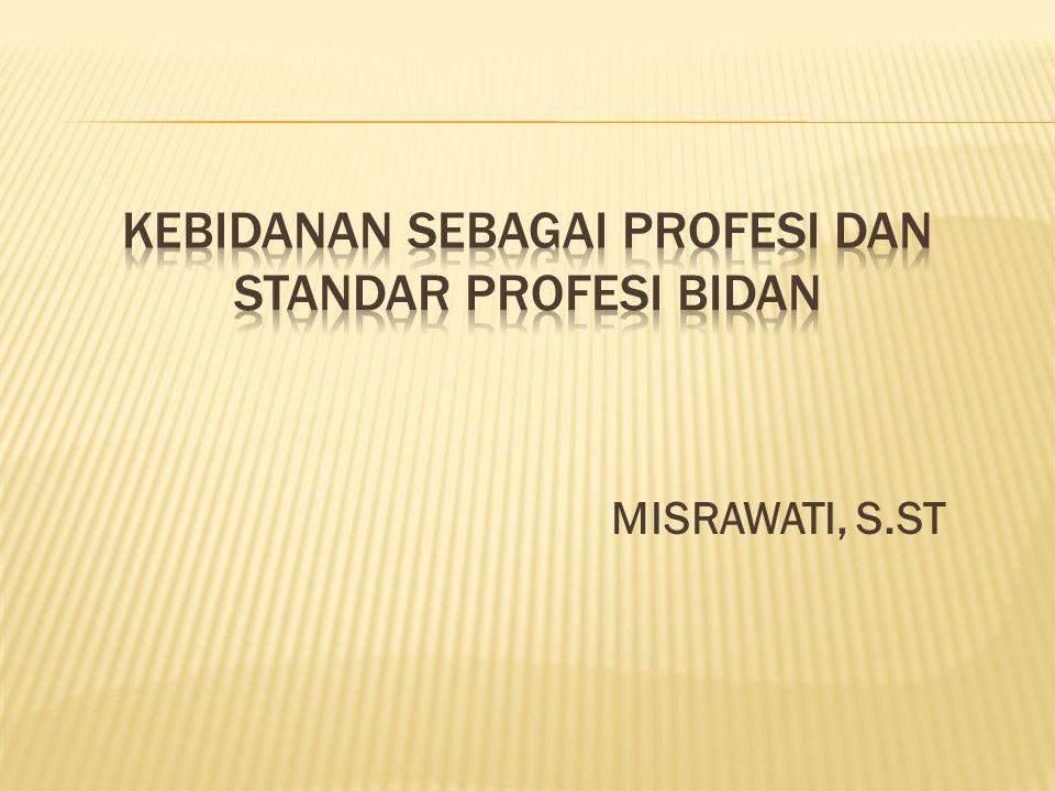  1.standar pelayanan (2 standar),  2. standar pelayanan antenatal (6 standar),  3.
