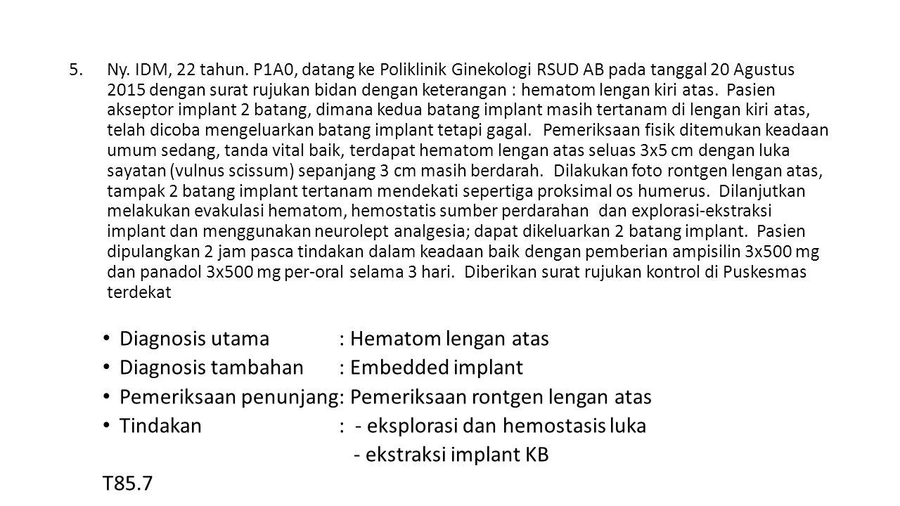 5.Ny. IDM, 22 tahun.