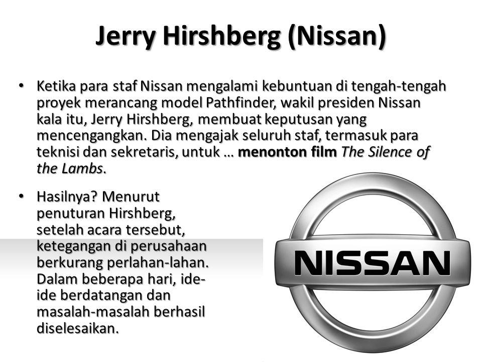 Jerry Hirshberg (Nissan) Hasilnya.