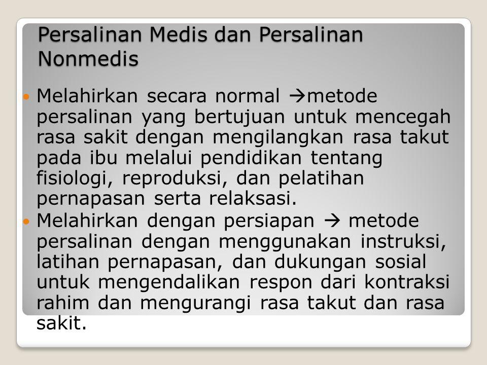 c) Faktor perilaku dan lingkungan pranatal.