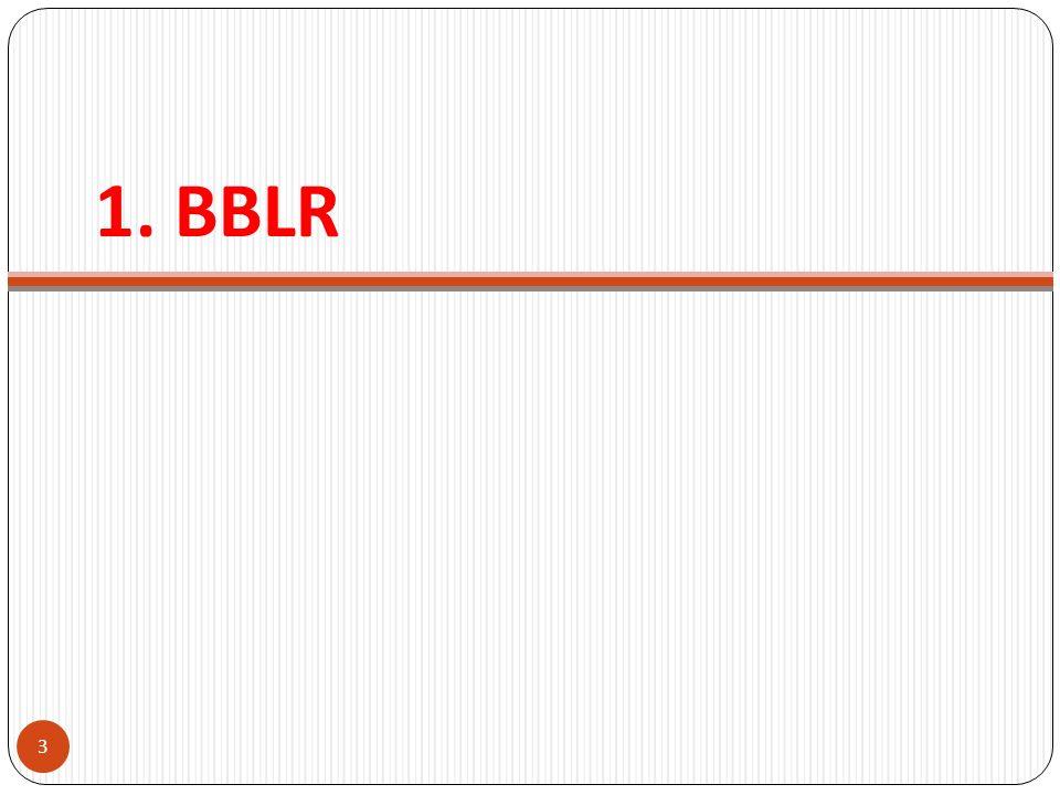 1. BBLR 3
