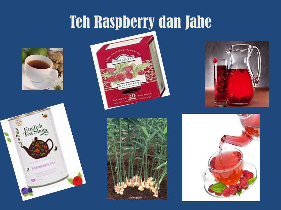 Teh Raspberry dan Jahe