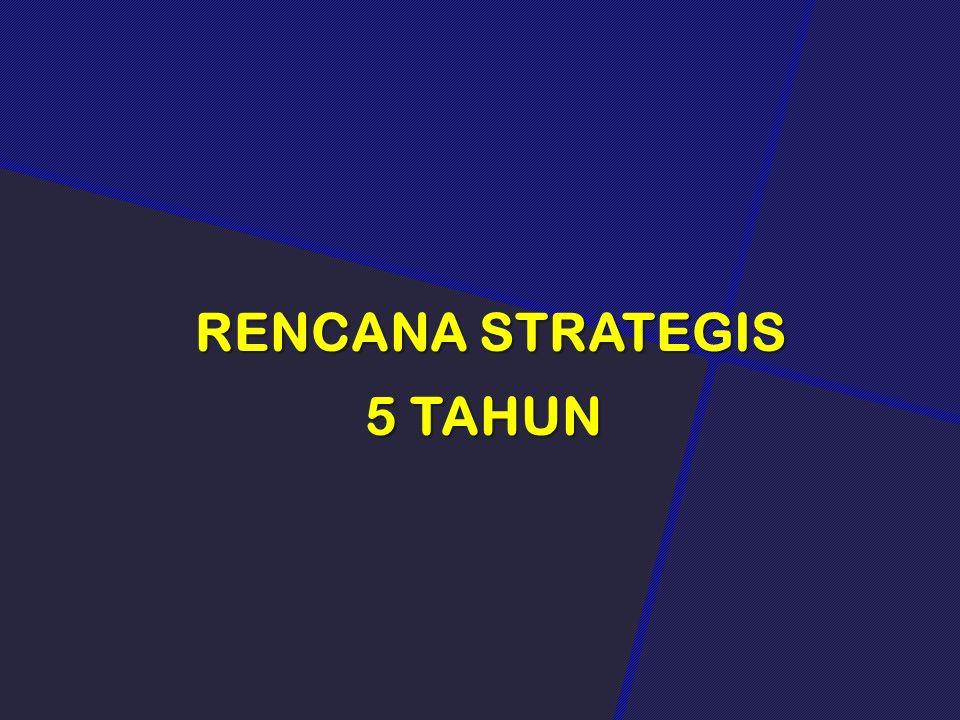 RENCANA STRATEGIS RENCANA STRATEGIS 5 TAHUN